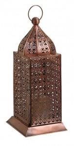 dekoratif metal fener