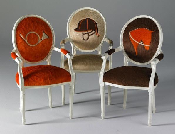 dekoratif sandalyeler