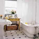 en guzel vintage banyo dekorasyon onerileri