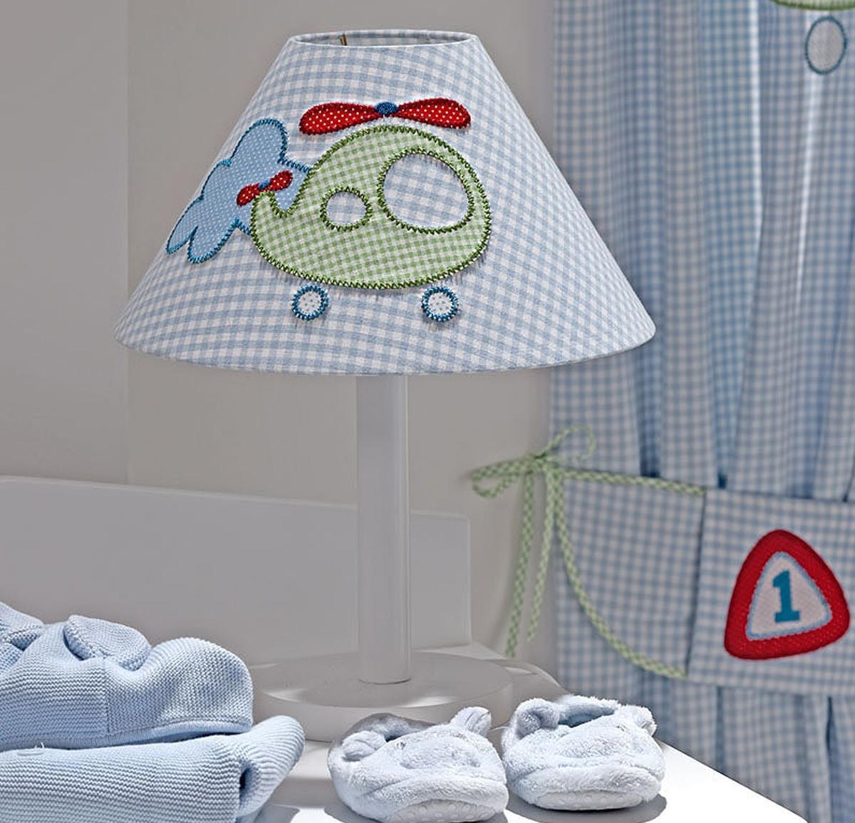 erkek bebek odasi abajuru