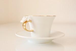 kelebekli bernardo kahve fincani