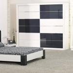 kilim siyah beyaz yatak odalari