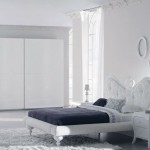 lazzoni beyaz modern yatak odasi modeli