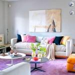 lila rengi dekorasyon