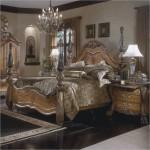 lux ahsap klasik yatak odasi modelleri