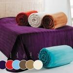 merinos duz renkli battaniye modelleri