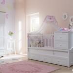 newjoy laura beyaz bebek odasi