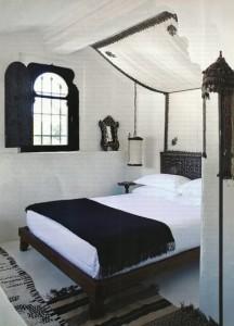 otantik yatak odasi