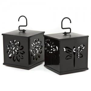 siyah dekoratif fener modelleri