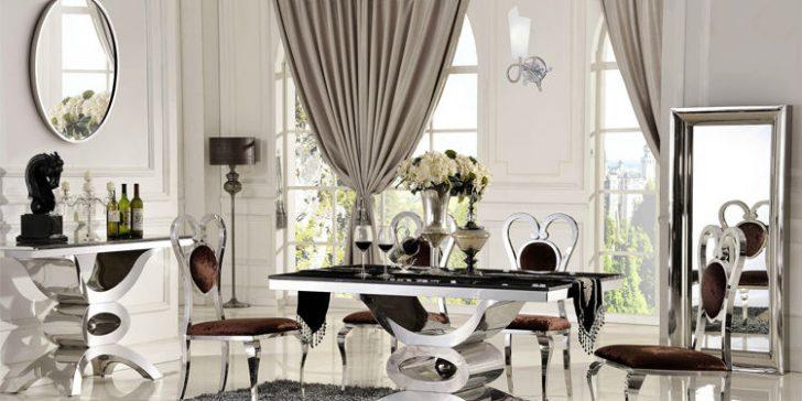 Birbirinden Güzel Lüks Ve Modern Yemek Masaları 2015