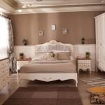 tarz mobilya country antik yatak odasi