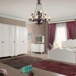 tarz mobilya country yatak odasi