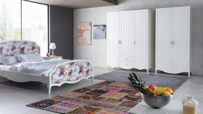 Yeni Moda Country Tarzı Yatak Odaları