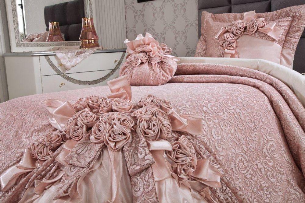 vinaldi garden rose yatak ortusu modeli