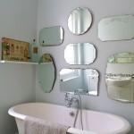 vintage banyo dekorasyon