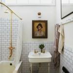 vintage banyo dekorasyon modeli