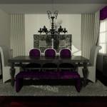 yeni moda bosart mobilya yemek odası modelleri