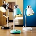 yeni moda renkli masa lambalari