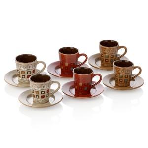 yeni trend bernardo kahve fincani takimlari