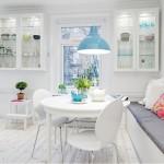 2015 beyaz mutfak dekorasyonu