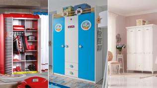 Yeni Sezon Çilek Çocuk Odası Gardırop Modelleri 2018