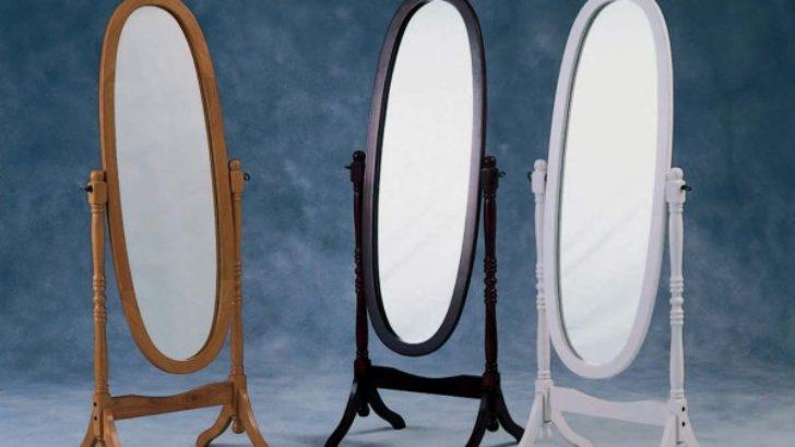 Yatak Odaları İçin En Güzel Ayaklı Boy Aynası Modelleri