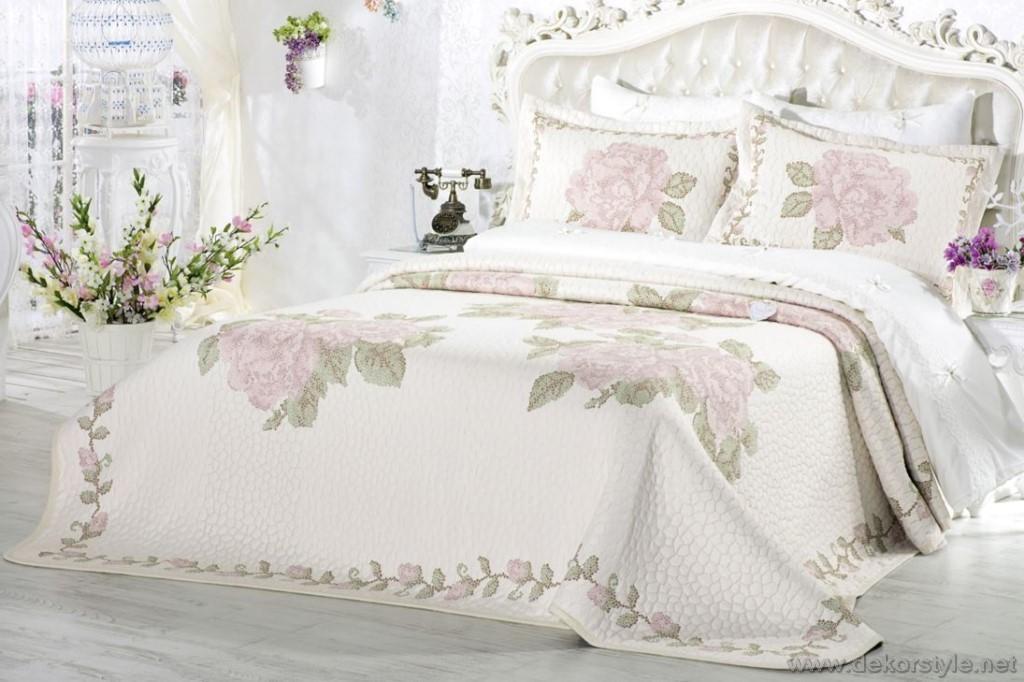349tl Kanavice yatak örtüsü