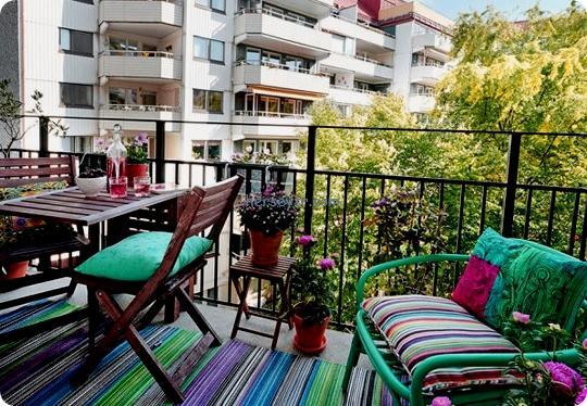 balkonlarda tarz yaratan dekorasyon fikirleri