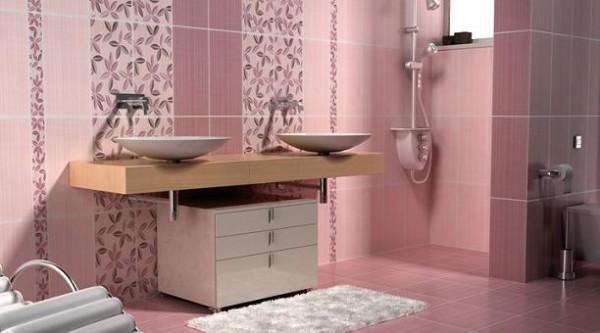 banyo fayans modelleri 2015 dekorstyle. Black Bedroom Furniture Sets. Home Design Ideas