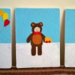 bebek odasi dekoratif panolar