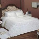 beyaz ceyizlik yatak ortusu modelleri 2015