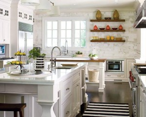 Beyaz Country Mutfak Modelleri