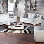 beyaz deri modern bellona koltuk takimi