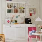 beyaz yaz mutfaklari
