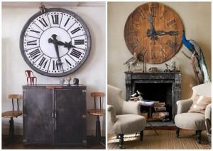 Büyük boy duvar saati modelleri
