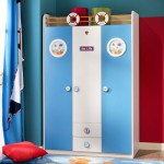 Çilek Erkek Çocuk Odası Gardırop Modeli