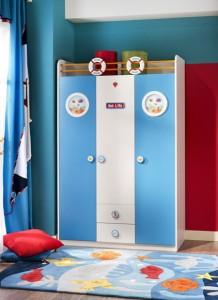 cilek erkek cocuk odasi gardrop modeli