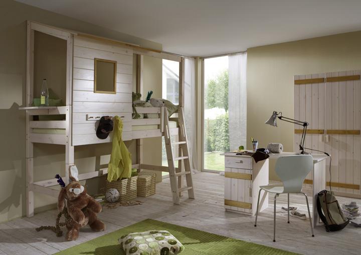 cocuk odasi beyaz kulubeli ranza dekorstyle. Black Bedroom Furniture Sets. Home Design Ideas