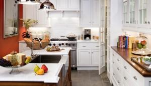 Country Tarzı Beyaz Mutfaklar