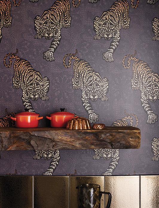 dekoratif desenli duvar kagitlari