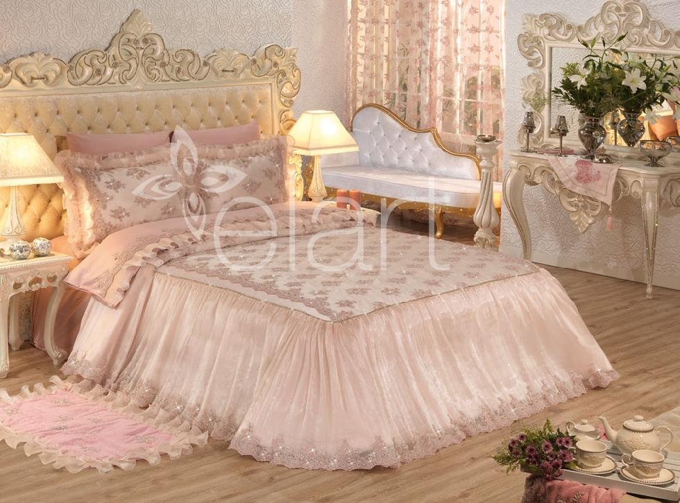 Elart gelin yatak örtüleri