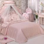 En güzel elart yatak örtüsü modelleri