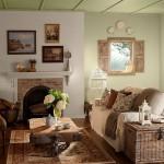 goz alici vintage salon dekorasyon modelleri