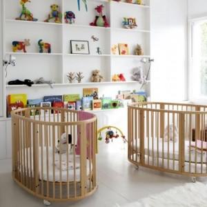 ikiz bebek oda dekorasyonu