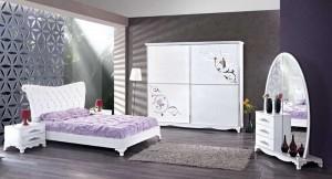 İstikbal Beyaz Modern Yatak Odası Takımı