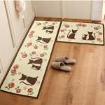 kedi resimli mutfak halisi