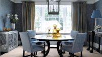 2015 Modası Yuvarlak Yemek Masası Modelleri
