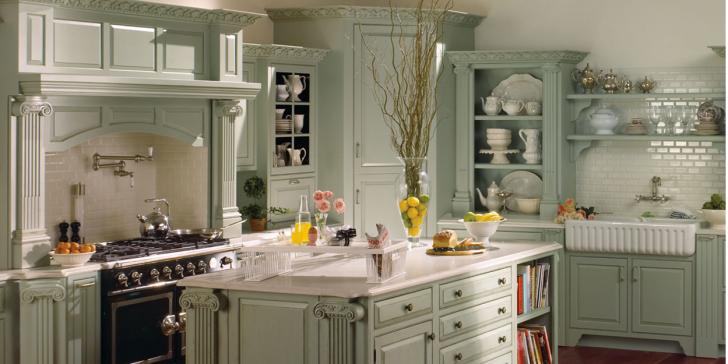En Etkileyici 20 Country Tarzı Mutfak Dekorasyon Modeli