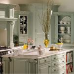 mutfaklarda country stili dekorasyonlar