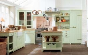 Mutfaklarda Country Tarzı